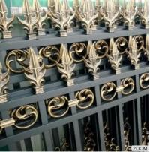 Outdoor Aluminum Garden Fencing Custom Designed Decorative Security and Privacy Luxury Manufactures