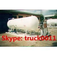 120,000L mobile skid-mounted lpg gas refilling plant for 1-150kgs steel gas cylinders, skid lpg gas station for sale Manufactures
