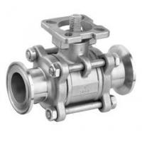 Full Port Stainless Steel Ball Valve With Clamp Ends 1000WOG Floating Ball Manufactures
