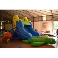 Buy cheap Small Tortoise Inflatable Water Slide / Cute Blow Up Seahorse PVC Slide With from wholesalers