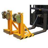Quality Loading Capacity 1000Kg Drum Clamp Attachment Bandage-type Double Protection for sale