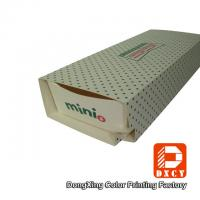 Rectangular Drawer Type Recycled Paper Food Packaging Boxes Durable For Snack Manufactures
