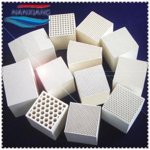 Manufactory Sale Honeycomb Ceramic Monolith, Heat Exchange Ceramic Honeycomb Block Manufactures