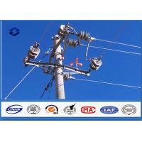 Steel Q345 Material Steel Utility Pole for Transmission and Distribution Line Manufactures