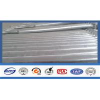 High And Low Arm Street Lighting Pole Hot - Dip Galvanized Taper Shape Manufactures
