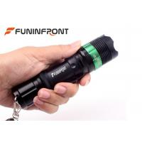 Outdoor CREE T6 Zoom Led Flashlight, Tactical Led Torch Handheld Adjustable Focus Manufactures
