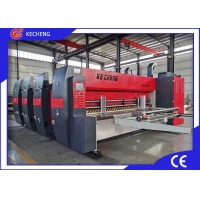 Jumbo Flexo Printer Slotter Die Cutter Machine With Stacker Manufactures
