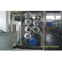Quality Single Stage Reverse Osmosis Seawater Desalination Equipment With Water for sale