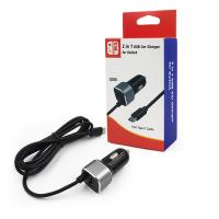 Factory Supply High Quality 2 in 1 Nitnendo Switch Car Charger Mobile Charger Manufactures