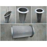 China Durable Wedge Wire Filter Elements Stainless Steel Mine Sieving 60-95% Filter Rating on sale