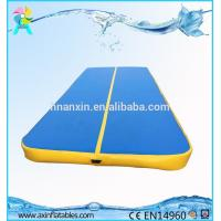 Cheap used inflatable air tumble track gymnastics mats