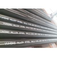 Alloy Steel Seamless Pipe ASTM A335 P22 P11 P9 P91 WITH Black or Varnish Coating Bevelled End Manufactures