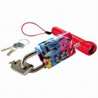 Three-digit Security Lock for Notebooks/Laptops and Computers, with Dual-mechanism Manufactures