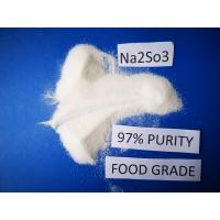 Buy cheap Industrail Grade Sodium Sulfite Preservative Molecular Formula Na2SO3 High from wholesalers