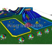 Buy cheap Customized Adults Giant Outdoor Inflatable Water Parks For Amusement Playground from wholesalers