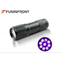 395nm Ultraviolet Pet Urine Detector 9 LED Black Light LED Flashlight Manufactures