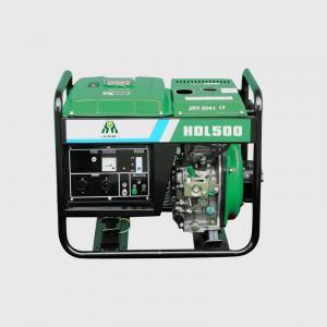 4.5KW / 5KW Portable Diesel Generator , Open Frame Power Genset Manufactures