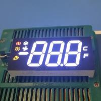 Multicolor 3 Digit Seven Segment Display Ultra Bright For Refrigerator Control Manufactures