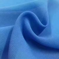 2018 the most popular wholesale high quality pearl chiffon fabric Mulinsen Woven Wholesale polyester dyed fabric Manufactures