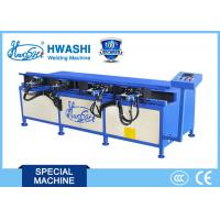 Manual Wire Shelf Frame Bending Machine HWASHI Bending Steel Wire 12 Months Warranty Manufactures