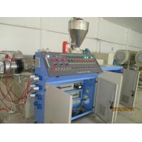Pest Resistant Wood Plastic Profile Extrusion Line For Indoor Plate Decoration Manufactures