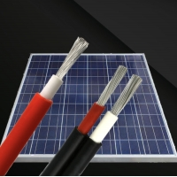 TUV Certified PV1-F 2.5/4/6/10 Square Mm Photovoltaic DC Tinned Copper Pv1f Solar Cable Tuv 2pfg 1169 Pv Cable Manufactures