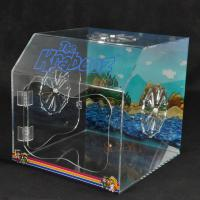 PET Plastic Display Box Customized With Vivid Pictures / Fan Air Vent