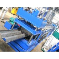 Highway Fence Cold Bending Roll Forming Machine 5 Rollers Leveling Hole Punching System Use Panasonic PLC Control Manufactures