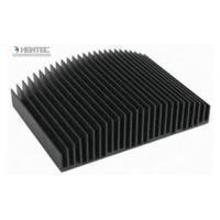 6063 Aluminum Heatsink Extrusion Profiles For Water Cooler / Electronic Radiator / Automatic Industry Manufactures