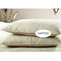 Customized Full Size Quilt Country Style 3 Pcs Disk Embroidered Coverlet And Sham Manufactures