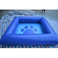 0.9mm pvc Inflatable Water Toys , Inflatable Swimming Pool For Family / Amusement Park Manufactures