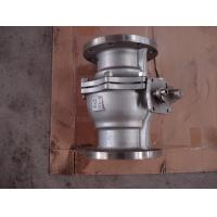 Durable Stainless Steel Ball Float Valve Flanged ASTM A216 WCB Manufactures