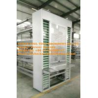 Buy cheap Poultry  Farming Equipment Hot Galvanized Silver H Type Automatic Layer Cage & Chicken Coop System with 84-224 Birds from wholesalers