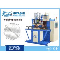 Quality Iron Round WIre Mesh Welding Machine , Automtic Spot Welding Machine With Rotating Fixture for sale