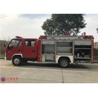 China IV Emission 4x2 Drive Water Tanker Fire Truck With Strobe Lights Manufactures