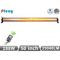 """50"""" 288W Amber and White Color flashing Led Light Bar For 4X4 Manufactures"""