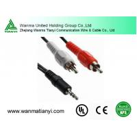 High quality Gold audio video extension rca cable Manufactures