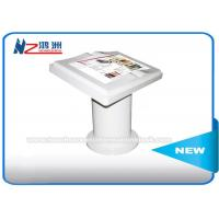 Floor Standing Self Service Library Kiosk With IR Touch Screen , Self Service Checkout Machines Manufactures