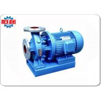 ISW Inline Circulating Centrifugal Water Pump Small For Fire Boosting Manufactures