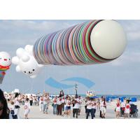 Inflatable Cloud Shaped Balloon Helium Gas Water Proof For Events Manufactures