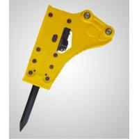 Steel Excavator Jackhammer Attachment Heat Treatment With Powerful Stroke Manufactures