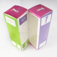Quality Paper personalized Customized Boxes Printing with PVC Window for Packaging cosmetic for sale