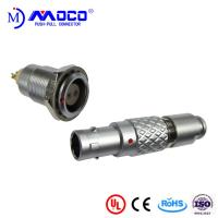 0B 2 pin male and female circular push pull connector for Infrared Camera Manufactures