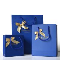 Promotional Personalized Paper Gift Bags , Paper Shopping Bag With Handles Manufactures