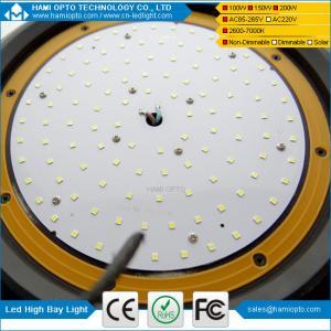 Warehouse use IP65 150w 100w LED high bay light, ufo LED high bay light, 200w led high bay light Manufactures