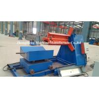 Stainless Steel Decoiling / Automatic Hydraulic Steel Coil Decoiler 5T /7 T /10 T Manufactures