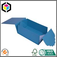 Unique Color Design Custom Made Paper Rigid Gift Packaging Box; Collapsible Gift Box Manufactures