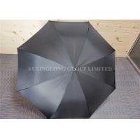 27 Inches Printed Windproof Golf Umbrella Sun Protection With EVA Handle Manufactures