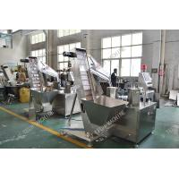 PE Foam Liner Inserting Cap Lining Machine For Water Bottle Caps Automatic Manufactures