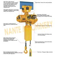 Quality Compact 0.5 ton 2 Ton Electric Hoist For Crane / Travelling Type / Fixed Type for sale